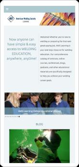 American Welding Society Handheld